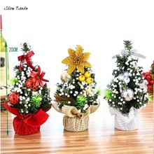 ISHOWTIENDA 1PC 20cm Merry Christmas Tree Bedroom Desk Decoration Toy Doll Gift Office Home Children(China)