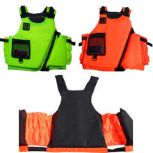 Adult Buoyancy Aid Sailing Swimming PFD Life Jacket Vests Apple Green/ Coral New(China)