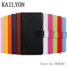 KAILYON For iphone 6 Luxury Real Genuine Leather Wallet Case Flip Cover For iphone 6 4.7 Cell Phone Cover Bag With Stand Card Ho(China)