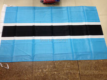 flags of the world free delivery Botswana National Flag polyester printing  4ft*6 ft