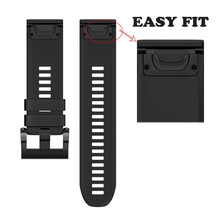 NEW Best Price ! Wide 22MM 5 colors 22MM Replacement Silicagel Soft Band Strap For Garmin Fenix 5 GPS Watch high quality 2may24
