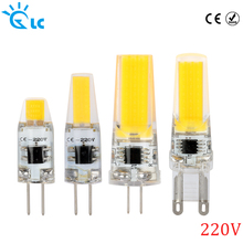 LED G9 G4 COB SMD 220V 230V 240V lamp dimmable bulb for Chandelier Crystal Lamp LED Spotlight Lamp Warm Cold White