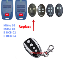 BFT Mitto 2 4, RCB02 RCB04 compatible garage door remote control rolling code free shipping(China)