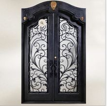 Shanghai China factory producing  wrought Iron doors high quality export to U.S ,model  h-wid7