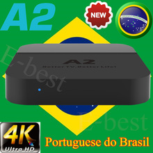 HTV 5 BOX A2 htv5 htv3 Portugal Brazilian BRAZIL TV Box Live Brazil h.tv3 H.TV5 HD Filmes OnDemand TV brasileiros Streaming box(China)