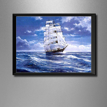Full Diamond Painting Clipper Ship Diy Diamond Embroidery Classic Decoration For The Living Room A Good Gift Of Craft For Family