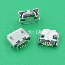 10Pcs A19 Micro USB 5pin Long Pin Jack Female Socket Connector OX Horn Curly Mouth for Tail Charging Mobile Phone Sell At A Loss