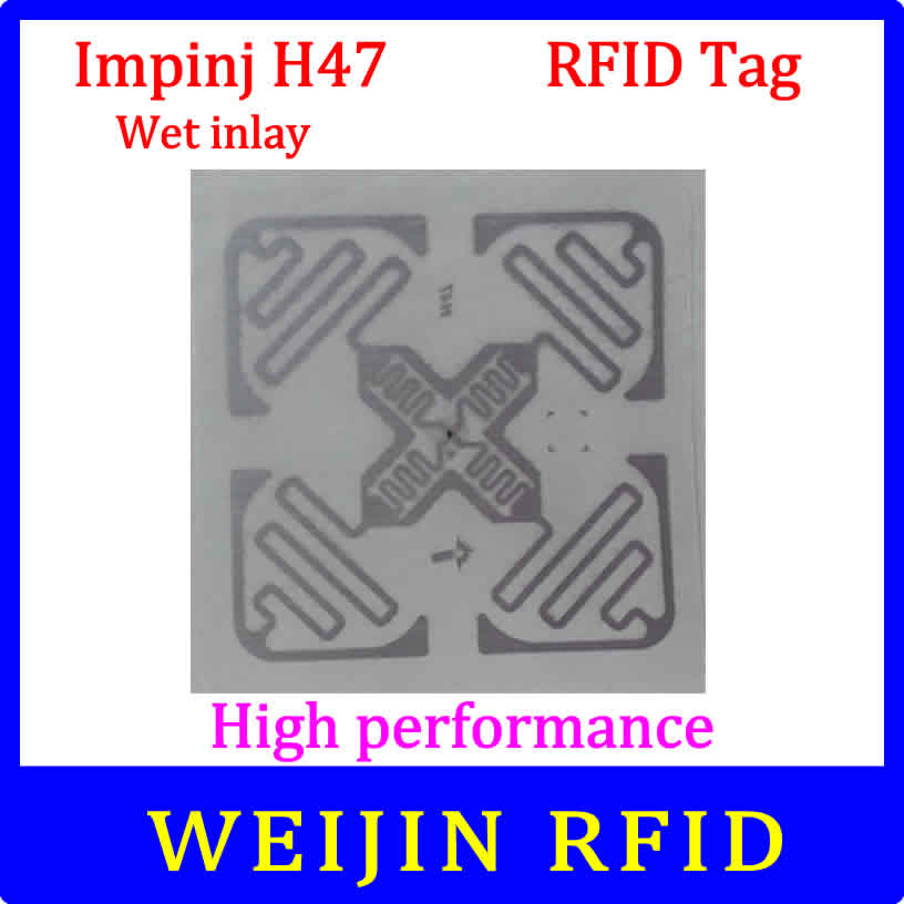 Impinj H47 UHF RFID wet inlay 860-960MHZ 915M EPC  Monza4 can be used to RFID tag and label<br><br>Aliexpress