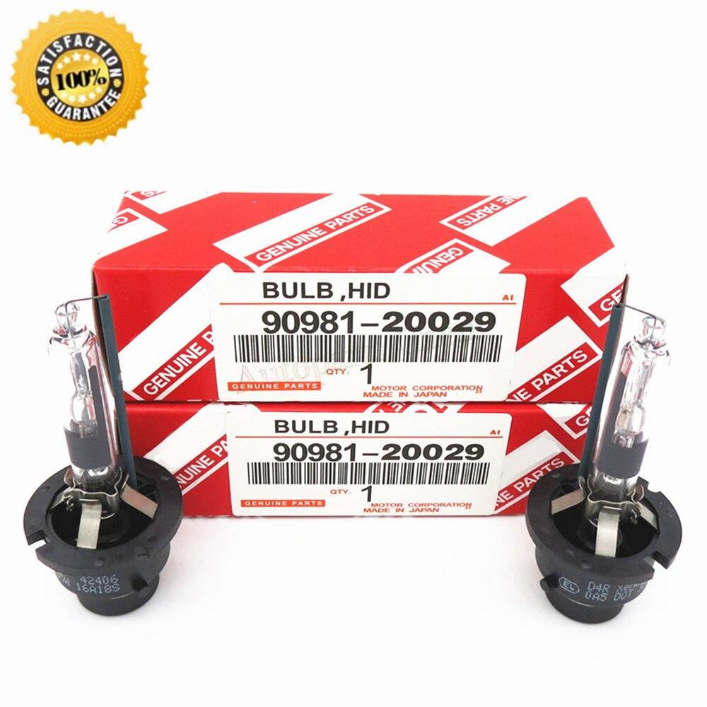 (2pcs/lot) D2S D2R D4S D4R 90981-20029 E4 0A5 0A6 DOT 4300K 6000K 35W 12V For Toyota Corolla HID Xenon Bulb Discharge Headlamp<br><br>Aliexpress
