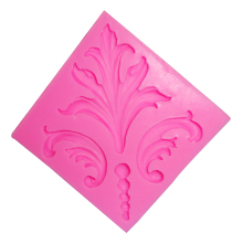 M344 Retro European Relief  Silicone Cake Mold Fondant Lace Cake Decorating Tools Chocolate Soap Gumpaste 7*0.7CM