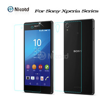 2pcs/Lot Front+Back Tempered Glass For Sony Xperia Z5 Premium Z1 Z3 Z5 Compact Screen Protector For Sony Xperia Z Z1 Z2 Z3 Z4 Z5