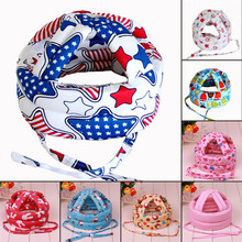 Baby Safety Learn to Walk Cap Anti-collision Protective Hat Safety Helmet Soft Comfortable Head Security&Protection Adjustable