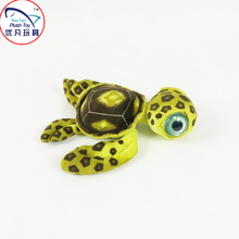 2016 New Vivid design 40cm stuffed sea turtle toy plush material toy animal Aquarium souvenirs soft toy gift