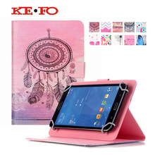 "PU Leather Stand Case For Sony Xperia Z3 Compact 8.0 inch Tablet cover 8"" Universal Tablet For 7.7inch- 9inch bags S4D69D(China)"