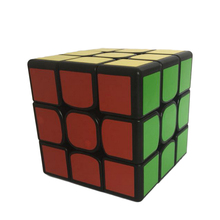 Dayan Zhanchi Secondary 57mm Magic Cube 3x3x3 Speed Puzzle Toys for Competition Challenge - Black-based(China)