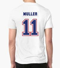 Germany t shirt Men's T-shirt Kirk Muller #11 jersey Cool cotton tops Short Sleeve Printed Custom Casual Patriots Tees(China)