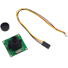 1pcs HD 700TVL CCD Mini Security Video PCB Board FPV Color Digital CCD Camera Dropship(China)