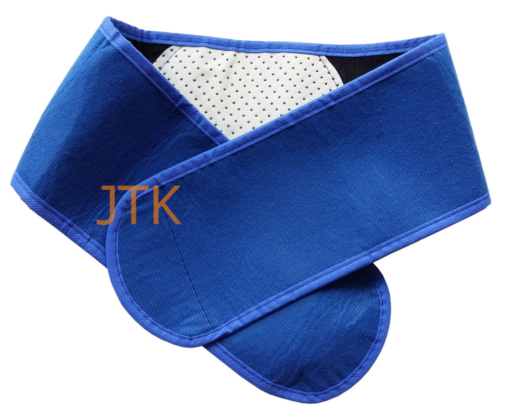 10pcs/pack Tourmaline Self Heating Belt Braces &amp; Supports magnetic therapy Waist belt  keep warmer blue<br>
