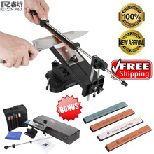 Ruixin Pro II Knife Sharpener Update Chefs Professional Kitchen Sharper Knife Sharpening System Fix-angle 4 whetstones Apex