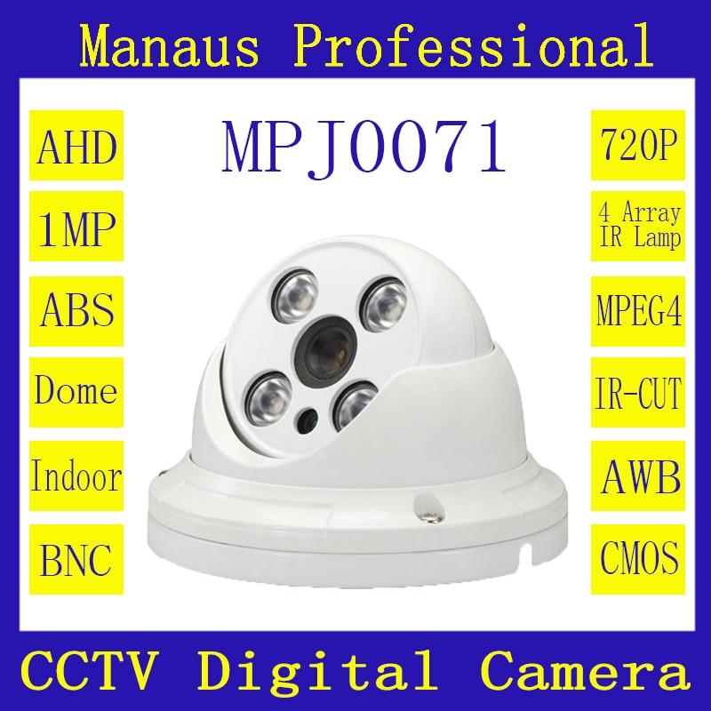 3.6mm 6mm 8mm HD lens 720P AHD Camera 4 Array Infrared Lamps Night Vision Indoor ABS Dome Surveillance CCTV Digital Cameras J71b<br><br>Aliexpress