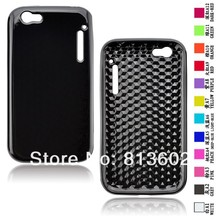 Free shipping DHL ,For Alcatel One Touch OT-995 Latest Diamond Style  Soft Gel TPU Resin Skin Back Cover Case,500pcs/lot
