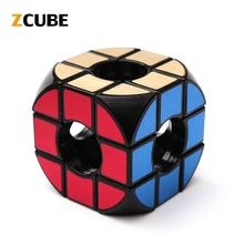 ZCUBE Classic Magic Toy Hollow Round Puzzle Smooth Neo Cube Education competition Speed Cubo Magico Toys