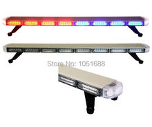 United Safe free shipping ESM3511L low profile GEN III 1 Watt super bright LED Warning Lightbar(amber/blue/red/white)