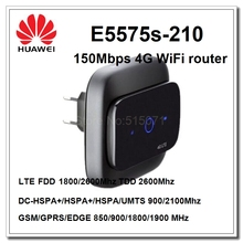 Huawei portable wifi hotspot E5575 support fdd 1800/2600MHZ and tdd2600 4G 3G modem router(China)