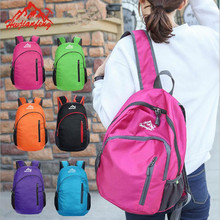 2017 New Ultralight Foldable Nylon Backpack Women&Men Hiking Camping Outdoor Sports Bag Travel Sport Pack back bag Rucksack(China)
