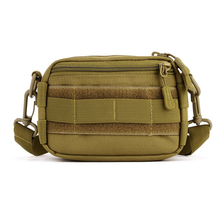 Protector Plus Outdoor Woodland Tactical Utility MOLLE Hip Pack Pouch Outdoor Nylon Messenger Bag Military Waist Belt Bag