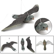 Flying Bird Hawk For Pigeon Decoy Garden Plant Scarer Pest Control Hunting Shooting