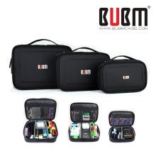 Bubm waterproof  Protect case for GOPRO XIAOMI YI  SJ camera mobile hard drive power pack data cable S M L