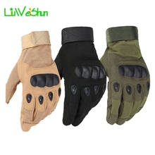 [LWS] Outdoor Tactical Gloves Men Full Finger Combat Military Militar Bicycle Anti-skid Cut Safety - Hatcaption Store store