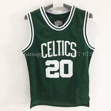 wholesale cheap Ray Allen  jersey 20# 100% Stitched Embroidery Logos Throwback  Basketball Jersey fast Free Shipping hot sale