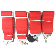 hot sale 2 sets New 3'' 4-Point Racing Seat Belt with FIA Approved Expiry 2020/2022 racing harness SAB02(China)