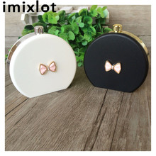 IMIXLOT Novel Perfume Bottles Contact Lenses Case for Eyewear Accessories Contact Lens Box Christmas Gift(China)