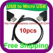 10 pcs Free Shipping 5V 2A AC AD ADAPTER Micro USB Data Cable for Motorola Droid RAZR M HD Maxx(China)