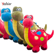 3 colors New Dinosaur plush toys stuffed plush animals doll baby pillow soft cushion birthday gift 55-65 cm Drop