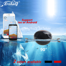Erchang Sonar Fish Finder Professional Portable Bluetooth Wireless Sonar 36M/118ft Depth Sea Fish Finder Helper Echo Sounder(China)