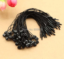 New black hang tag string, Hang tag strings cord for garment,stringing price hangtag or seal tag(ss-487)