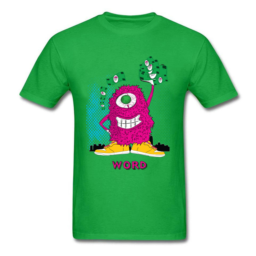 One eyed monster graphic t-shirt hoodies sweatshirts and more_green