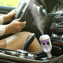 2017 Car Steam Humidifier Air Purifier Aroma Diffuser Essential oil diffuser Aromatherapy Mist Maker Mini Fogger car air purifie(China)