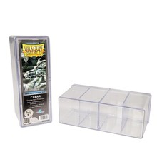 Dragon Shield Large Capacity Four Card Card Box To Protect The Magic Game King Zero Dimension Card Box(China)