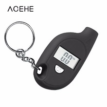 Keychain LCD Digital Tire Tyre Air Pressure Gauge For Car Auto Motorcycle Tyre Meter Tester Tool For Auto Motorcycle 2017 Hot(China)