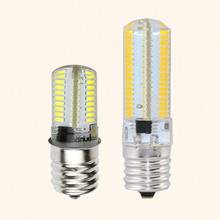 New E17 LED Bulb Microwave Oven Light Dimmable AC 220V 240V 4 Watt 8W lamp 3014SMD 64leds 152leds Appliance Compatible Bulbs