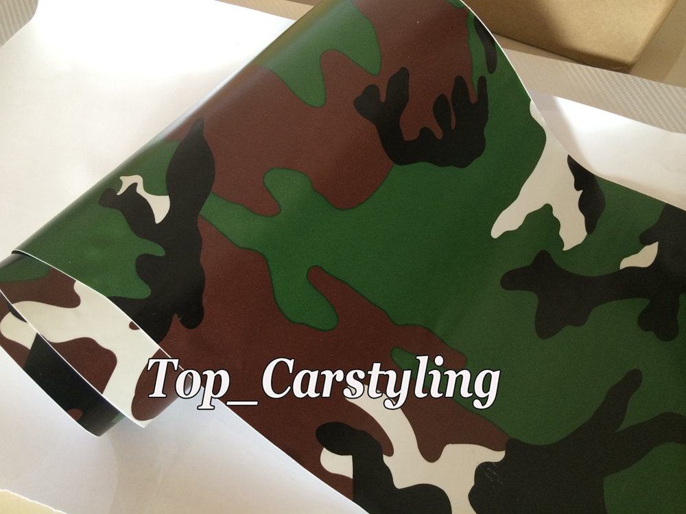 forest camouflage vinyl car wrapping film arctic (5)