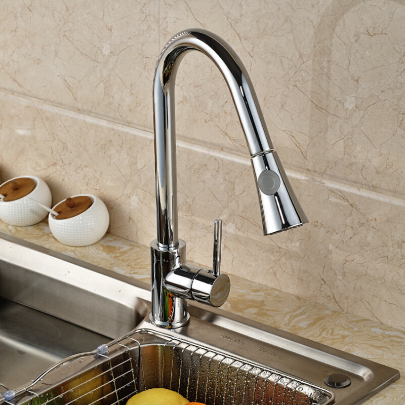 Luxury-360-Rotation-Pull-Out-Kitchen-Sink-Faucet-Deck-Mounted-Dual-Sprayer-Head-Mixer-Taps-Kitchen