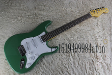 Free Shipping Fen Stratocaster Custom Shop White Signature Electric Guitar Chrome Hardware ST Strat Custom Body    @16