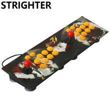 arcade joystick pc computer game usb connector street fighters Joystick Consoles usb Stationary Double Consoles for PC