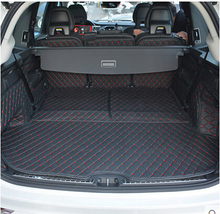 Newly Special trunk mats for New Volvo XC90 5seats 2016 Easy to clean waterproof boot carpets liner for XC90 2015,Free shipping